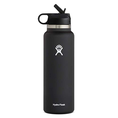 Hydro Flask Water Bottle - Wide Mouth Straw Lid 2.0