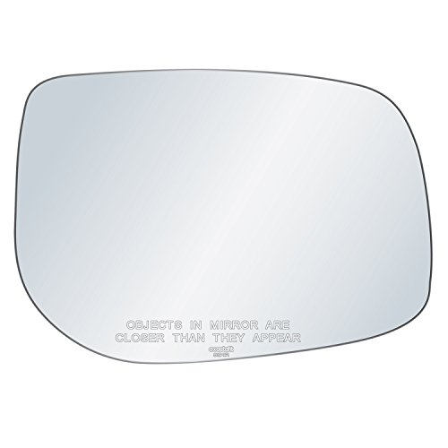 exactafit 8194R Replacement Passenger Right Side Mirror Glass Convex Lens fits 09-13 Toyota Corolla Scion 08-15 xB 11-15 tC by Rugged TUFF