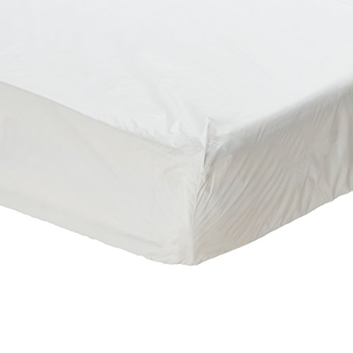 1 Twin Size Waterproof Mattress Cover - Hypoallergenic Fitted Protector for Potty Training, Bed Wetters, Allergies, Dust Mites, Bed Bugs, A (1)