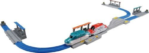 プラレール わくわく自動アクション E5系&E6系自動連結セット