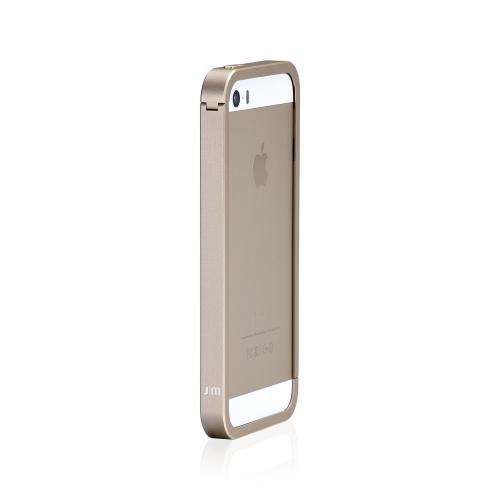 Just Mobile aluframe Coque de protection pour Apple iPhone 5/5S – Or