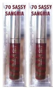 - Revlon Limited Edition Collection Midnight Swirl Lip Lustre, #070 Sassy Sangria (Qty, of 2 as Shown in Image)
