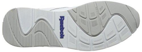 Reebok V53955, Zapatillas Para Hombre Blanco  (White / Steel / Reebok Royal)