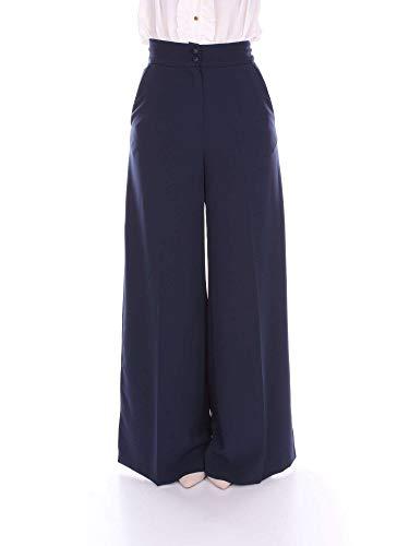 Nora 12419s116 Azul Barth Pantalon Mujer r5Rxrq6