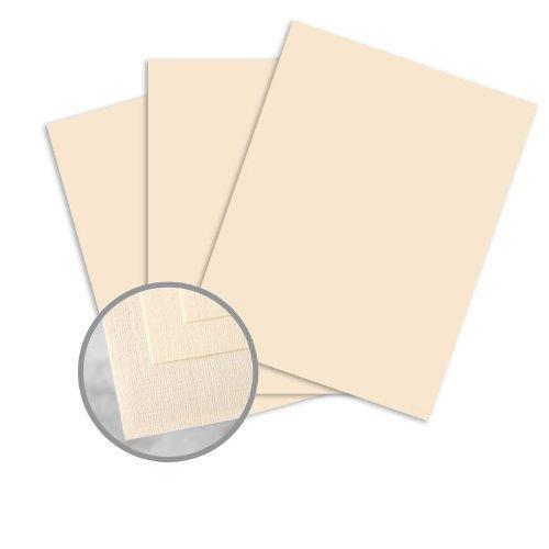 Via Linen Natural Paper - 11 x 17 in 70 lb Text Linen 30% Recycled 500 per Ream