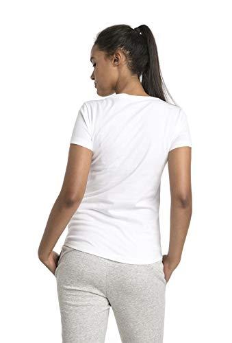 Puma puma White T Ess Femme Logo Blanc shirt Tee gg1qZxr