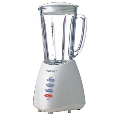 Nevir NVR-8114BV - Batidora de vaso, 350 W, 1, 25 l, color blanco: Amazon.es: Hogar