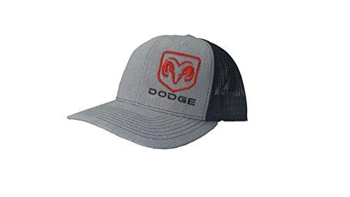 Richardson 3D Puff Dodge Ram Logo Hat Cap Adult Adjustable Snapback Unisex ()