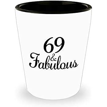 69th Birthday Shot Glass