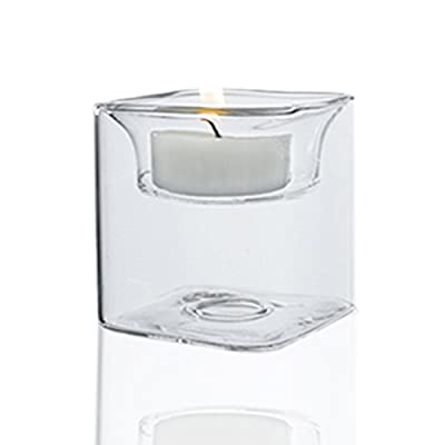 CYS EXCEL Tealight Glass Candle Holders