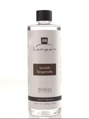 Millefiori Lampair Fragrance Lamp Oil Milano - ROSE MADELAINE (Rose Millefiori)