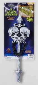 Forum Novelties 60203 Halloween Lawn (Skull Lawn Stakes)