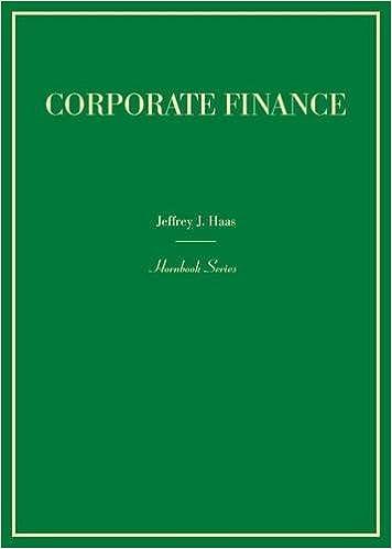Corporate Finance (Hornbook)