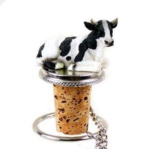 Holstein Bull Bottle Stopper