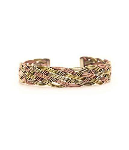 - Open Cuff Unisex Nepali Bracelet, Wire Design Bracelet.