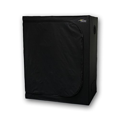 $78.99 indoor grow tent diy iPower 48″x24″x60″ Hydroponic Water-Resistant Grow Tent with Removable Floor Tray for Indoor Seedling Plant Growing, 2'x4′ 2019