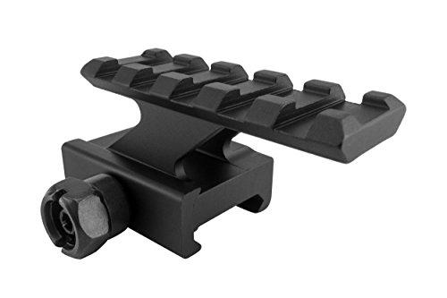 Monstrum Tactical Lockdown Series Lightweight Riser Mount   High Profile   2.2 inch L / 5 Slot