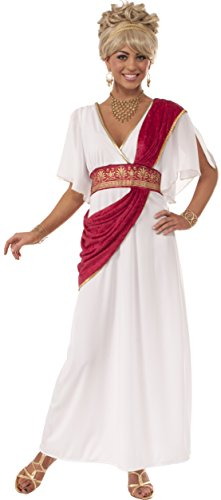 Costume Ancient Greek (Rubie's Costume Women's Grecian Goddess Costume, Multi, Small)