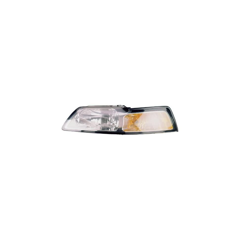 Ford MUStANG WItH CHROME BEZEL Headlight LEFt HAND