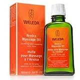 Weleda Arnica Massage Oil, Trial Size 0.34 FL Oz (Pack of 2)