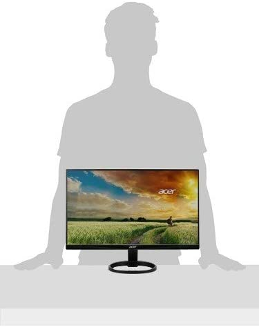 Acer R240HY bidx 23.8-Inch IPS HDMI DVI VGA (1920 x 1080) Widescreen Monitor, Black
