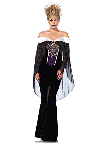 Evil Queen Sexy Costumes - Leg Avenue Women's Costume, Black,