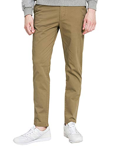 93a24a4193 MARKLESS Men's Straight Leg Linen Jeans Relaxed Fit Casual Pants(5 Pockets)