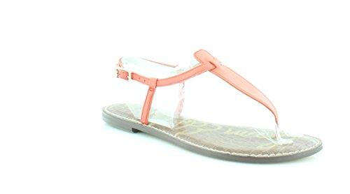 Orange Sandals Thong (Sam Edelman Women's Gigi Thong Sandal (Blood Orange, 7.5 B(M) US))