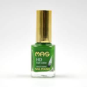 Mas High Shine Nail Polish - 12 ML, La Palma