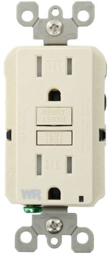 Leviton WT599 T Weather Resistant Tamper Resistant Receptacle