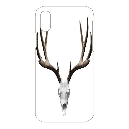Phone Case Compatible 3D Printed 2018 Apple iPhone Xs MAX DIY Fashion Picture,Skeleton Head Bone Halloween Weathered Hunter,Lovely Personalized Hard Plastic Phone Case Fashion Stylish