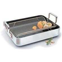 World Cuisine Non-Stick Roasting Pan with Non-Stick Rack (81240)