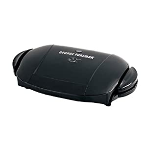 George Foreman 5-Serving Removable Plate Electric Indoor Grill and Panini Press :  this foreman for a couple of years and still love it. The removable grill plates are safe for