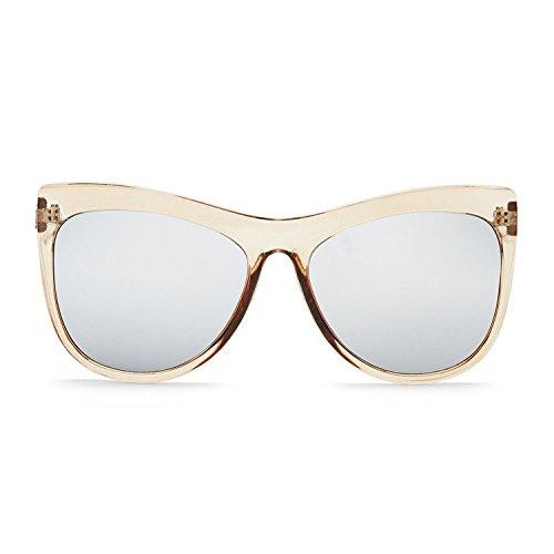 Quay Australia JOYRIDE Women's Sunglasses Dramatic Modern Cat Eye - - Eye Cat Dramatic