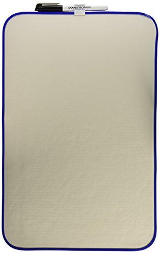 Dooley Boards Vinyl - Dooley Vinyl Framed Dry Erase Board, 11 x 17 Inches, 1 Board (1117MBV)