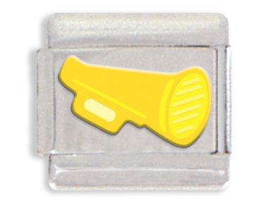 - Megaphone Italian Charm Bracelet Link