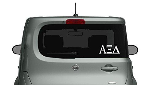 Alpha Xi Delta - Car, Truck Laptop, Macbook Decal Sticker (3 (Ksu Car)