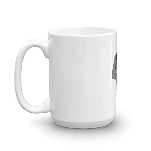 (Harley - Silhouette. 15 Oz Ceramic Coffee Mug Also Makes A Great Tea Cup With Its Large, Easy to Grip C-handle. 15 Oz Fine Ceramic Mug With Flawless Glaze Finish)