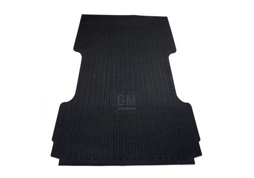 OEM NEW Heavy Duty Bed Mat w/GM Logo Rubber 07-14 Sierra Silverado 17803371
