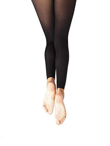 Calza senza piede bimba - Essentials Footless - Child (one size child, BLK (nera)) Capezio V1885C