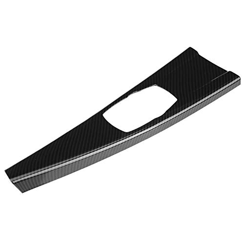 Keenso ABS Carbon Fiber Console Multimedia Panel Cover,Interior Multimedia Panel Cover Trim Sticker for BMW 3 Series F30 F34 4 Series F33 F36