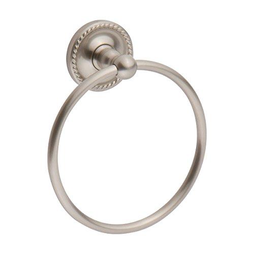 (Ginger Canterbury Traditional Towel Holder Ring - 1505/SN - Satin Nickel)