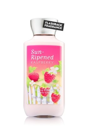 Bath and Body Works Sun Ripened Raspberry Body Lotion 8