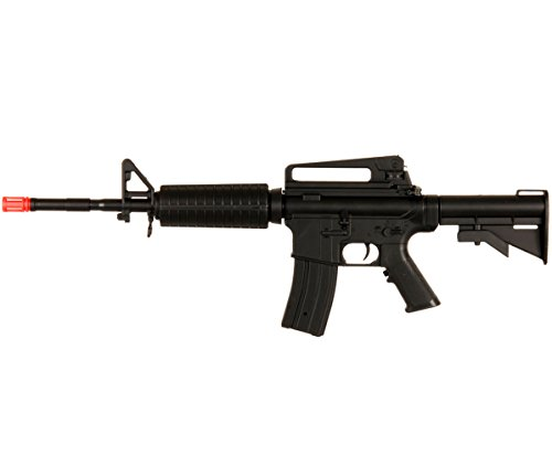 Well NEW D94S M4 A1 M16 AEG ELECTRIC AUTOMATIC AIRSOFT RIFLE GUN w/6mm BBs BB by Well