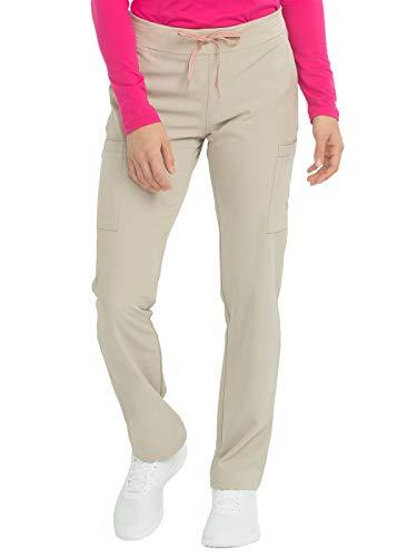 (Med Couture Air Women's Yoga 2 Cargo Scrub Pant Khaki/Watermelon)