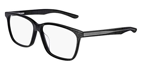 Balenciaga BB0023OA Eyeglasses 003 Grey-Grey 55mm