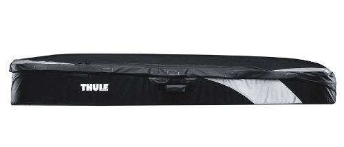 Thule 603500 Caja de Techo Negro Color Blanco /Única