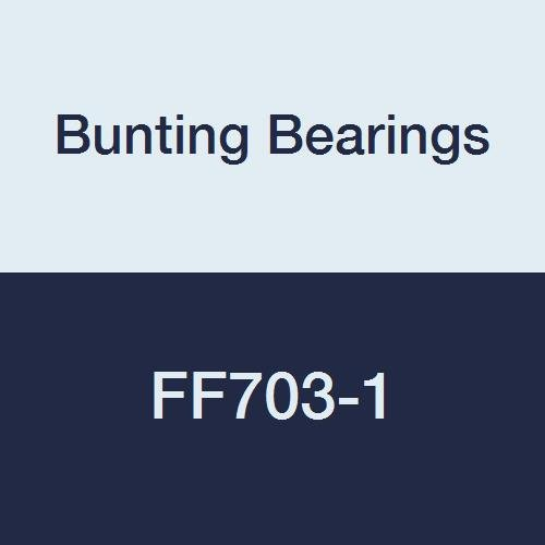 FF070301A3 Bunting Bearings FF703-1 Flanged Bearings 5//8 Bore x 3//4 OD x 1 Length x 1 Flange OD x 3//32 Flange Thickness 5//8 Bore x 3//4 OD x 1 Length x 1 Flange OD x 3//32 Flange Thickness Powdered Metal SAE 841 Pack of 3 Pack of 3