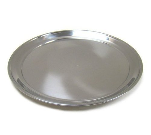 Scandicrafts R1612 Stainless Steel Pizza Pan 12'' by SCI Scandicrafts