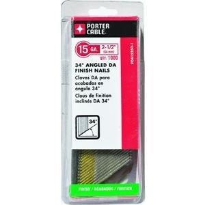 Porter Cable DA15250 2-1/2 inch 15 Gauge DA Finish Nails